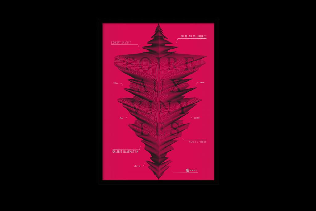 Poster Foire aux Vinyles