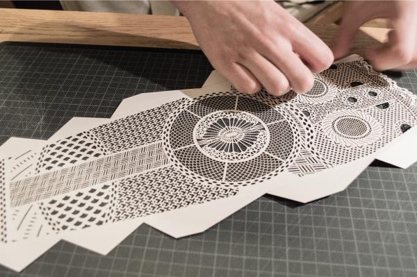 viking mask crafting